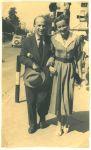Richard und Jenny Errell, um 1957