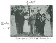 Rosalie und Adèle Maximilian und die 'Schauspieltruppe' in Cliffside Park