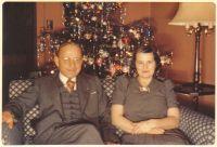 Samuel Ludwig Menz und Mae Gabriel Burnell, um 1940