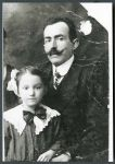 Samuel Spindler und seine Tochter Emilie