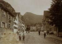 Fritz und Paul Tänzer Hohenems, um 1903