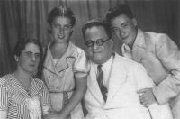 Irene Tänzer und ihre Familie: Suze Szasz, Joseph Szasz, Ferenc Szasz