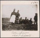 'Eskimofrauen' Fotografische Aufnahme von Rudolf Trebitsch
