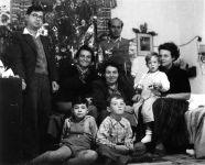 Weihnachten in Sarona, um 1954