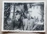 Werner Holländer mit seinem Vater Adolf