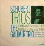 Schallplattencover des Galimir-Trio
