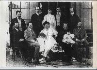 Familien Goldstern und Focsaneanu in Bukarest, 1907