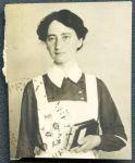 Amalie Hess während des 1. Weltkriegs