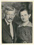 Rudolf Hirschfeld und Jakobine Vochezer.