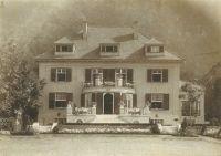 Sommerhaus von Arnold und Ottilie Rosenthal im Helenenthal, Baden bei Wien
