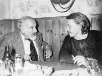 Max Riccabona (links) mit Reinhard Priessnitz
