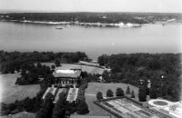 Villa Carola, Luftaufnahme