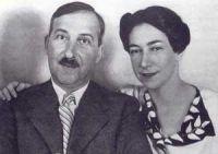 Stefan Zweig und Charlotte Altmann
