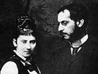 Moritz Zweig und Ida Brettauer